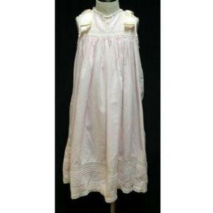 Other - Pink Linen Dress Spring Girl 4 Full Length Wedding
